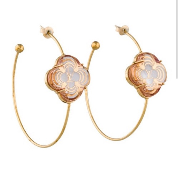 09814adb9 Louis Vuitton Jewelry   100 Authentic Lv A La Folie Hoops   Poshmark